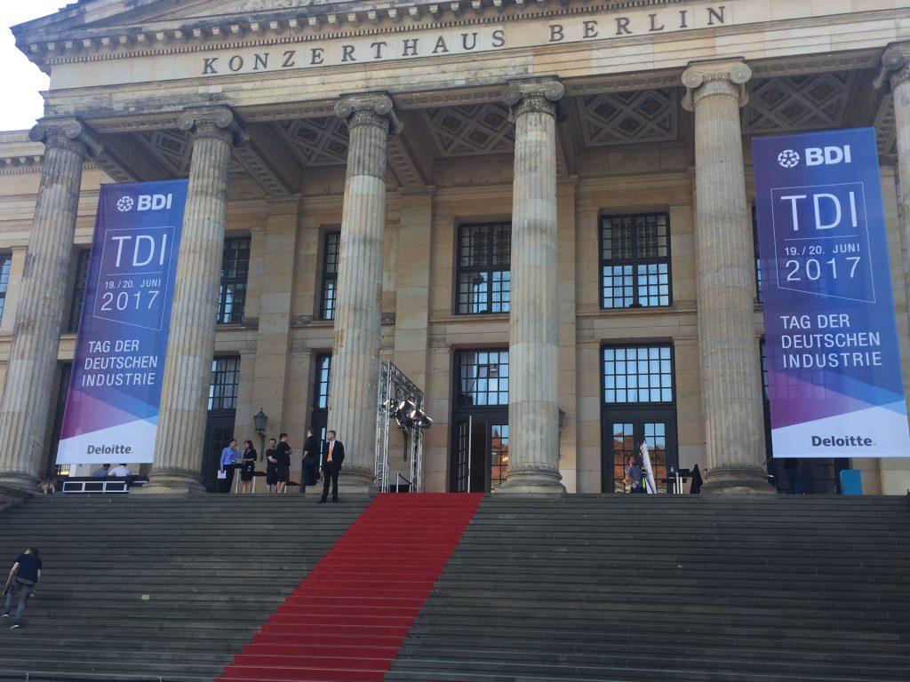 #TDI17 BDI Tag der Deutschen Industrie