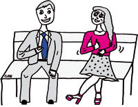Flirten verkaufen
